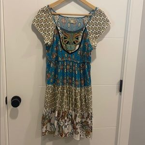 Live and let live dress / tunic size small